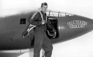 Certainty: Chuck Yeager in his Bell X-1.