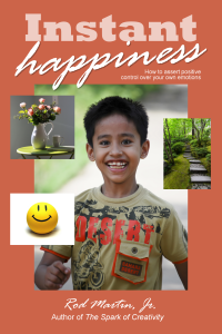 Finding Happiness: Book Cover Instant Happiness