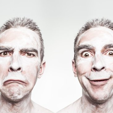 Color Yourself Happy: Happiness and sadness facial expressions.