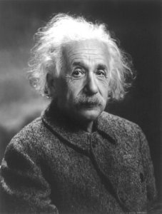 Now: Einstein - great thinker on the idea of now, time and space.