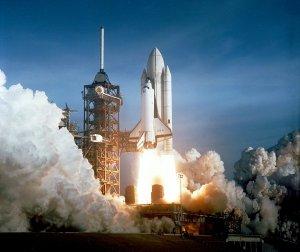 Outsiderness: Shuttle launch