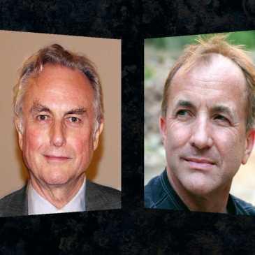 Atheists Richard Dawkins and Michael Shermer