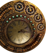 Time clock.