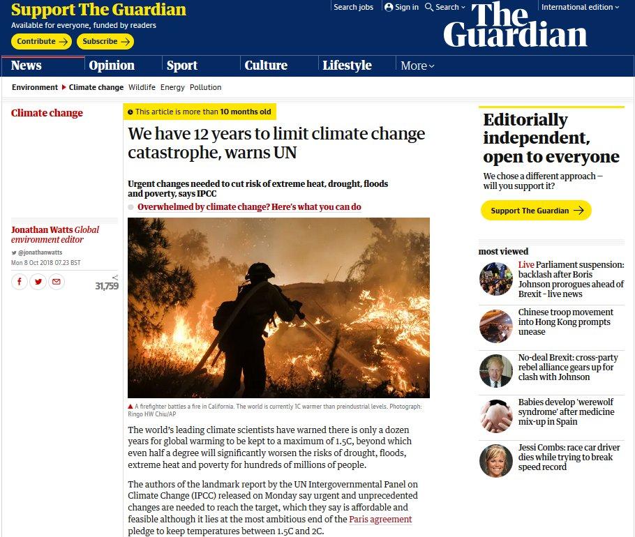 The Guardian headline adding to Chronic Stress