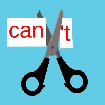 "cutting the ""t"" out of ""can't"""