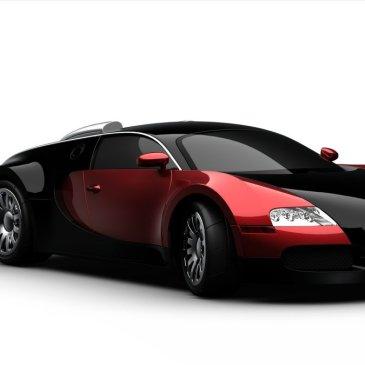 Prosperity Engine: futuristic sports car