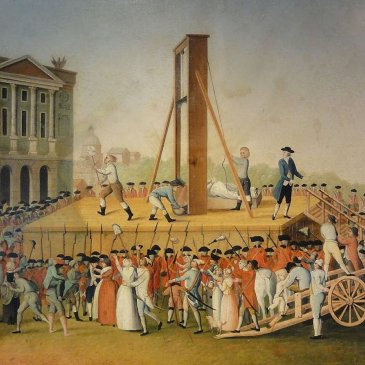 Leftist Corruption: Execution of Marie Antoinette by French Leftist mob.